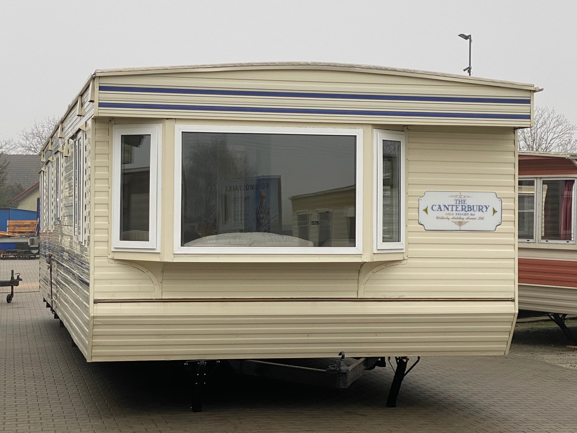 WILLERBY CANTERBURY 11,60 X 3,70 M
